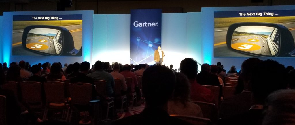 Garner IT Conference speaker